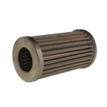 Fuel-Oil Filter Element, Replacement, 75 microns, Stainless Mesh, Fits 6 in. Length Inline Fuel Filters, Each