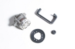 cv mount Alternator kit Complete-( used)- includes alternator,pulleys,belt,bracket