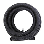 Hose, Braided Nylon, Black, -10 AN, 10 ft. Length