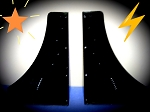 Composite front wing endplates (pair)