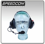 SCC 101 Behind-the-Head Headset Single Radio