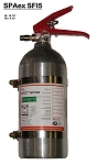 SPAex SFI5 - SPA Extreme Fire System 5lb mechanical - SFI 17.1 Certified