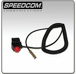 Speedcom velcro mount style push to talk button
