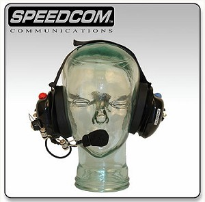SCC 101Behind-the-Head Headset Dual Talk