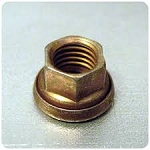 AN nut with captive washer 1/4