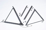 VD front  widetrack suspension componets 2001 thru current