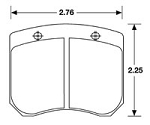 PFC Brake Pads f2,FF,LD20 FOR AP BRAKE CALIPERS- TOP RATED PADS