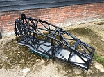 frame   2014( like new)  with stainless floor and fuel cell