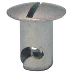 .350-5/16  fast Slotted Oval Head Quarter Turn Fasteners