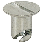 .600 x 5/16 Flush Head Slotted Quarter Turn Fasteners