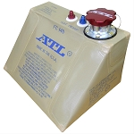 Fuel Cell Bladder, Replacement, Rubber, 4 Gallon, 15 in. x 11 in. x 8 in., -6 AN Outlet, Each