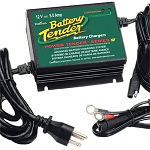 Battery Tender 12 Volt 5 Amp Water-Resistant Battery Charger (California Compliant)