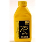 AP Formula DOT 5.1, Re-branded as Factory R Dot 5.1- Yellow Bottle with Yellow cap.