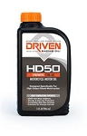 Motor Oil, HD50, Powersports, 4-Stroke, Synthetic, 15W50, 1 qt., Each