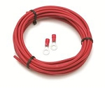 Electrical Wire; Extreme Condition Wire; 25 ft.; 8 Gauge; Red
