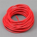 Electrical Wire, 12-Gauge, Red, (per foot)