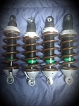 -Double adjustable shocks for Van diemen(set of 4)