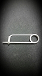 wheel saftey pin-  fits in hole on stub axle---18-8 Stainless Steel Bent-Wire Locking Pin