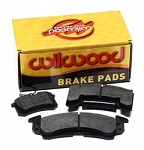 Wilwood Disc Brakes 150-14781K - Wilwood Smart Pad BP-30 Brake Pads-