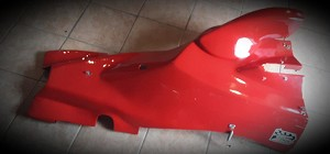 93-94 f1600 engine cover Blue gelcoat