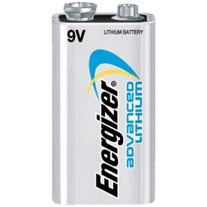 Energizer Advanced Lithium 9 Volt Battery