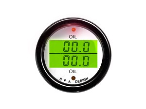 DG 200 - Oil Pressure and Water Temperature Gauge